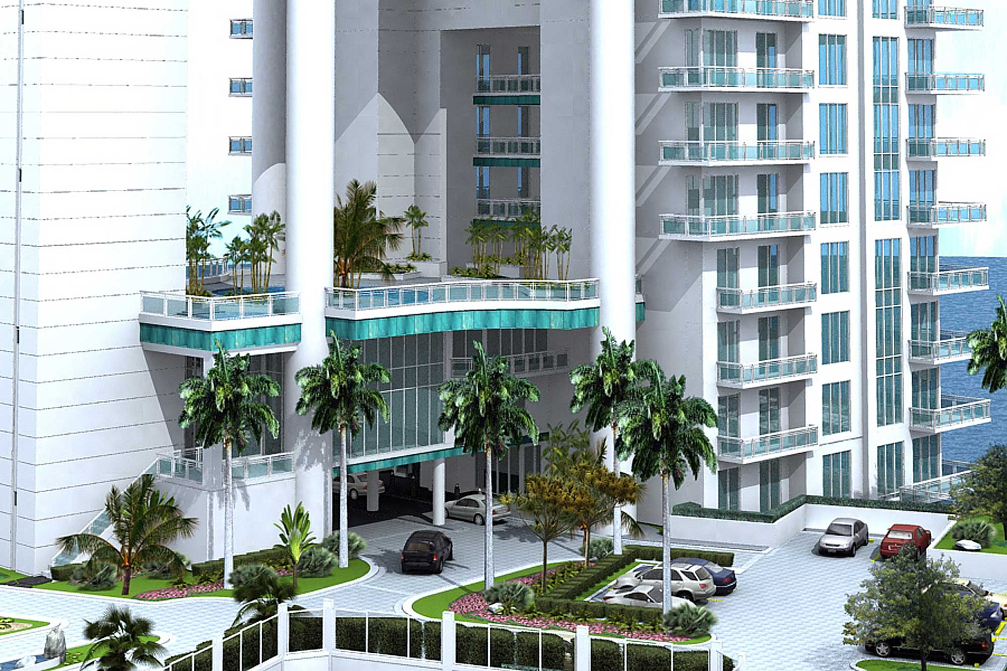Architectural Rendering Exterior Asia