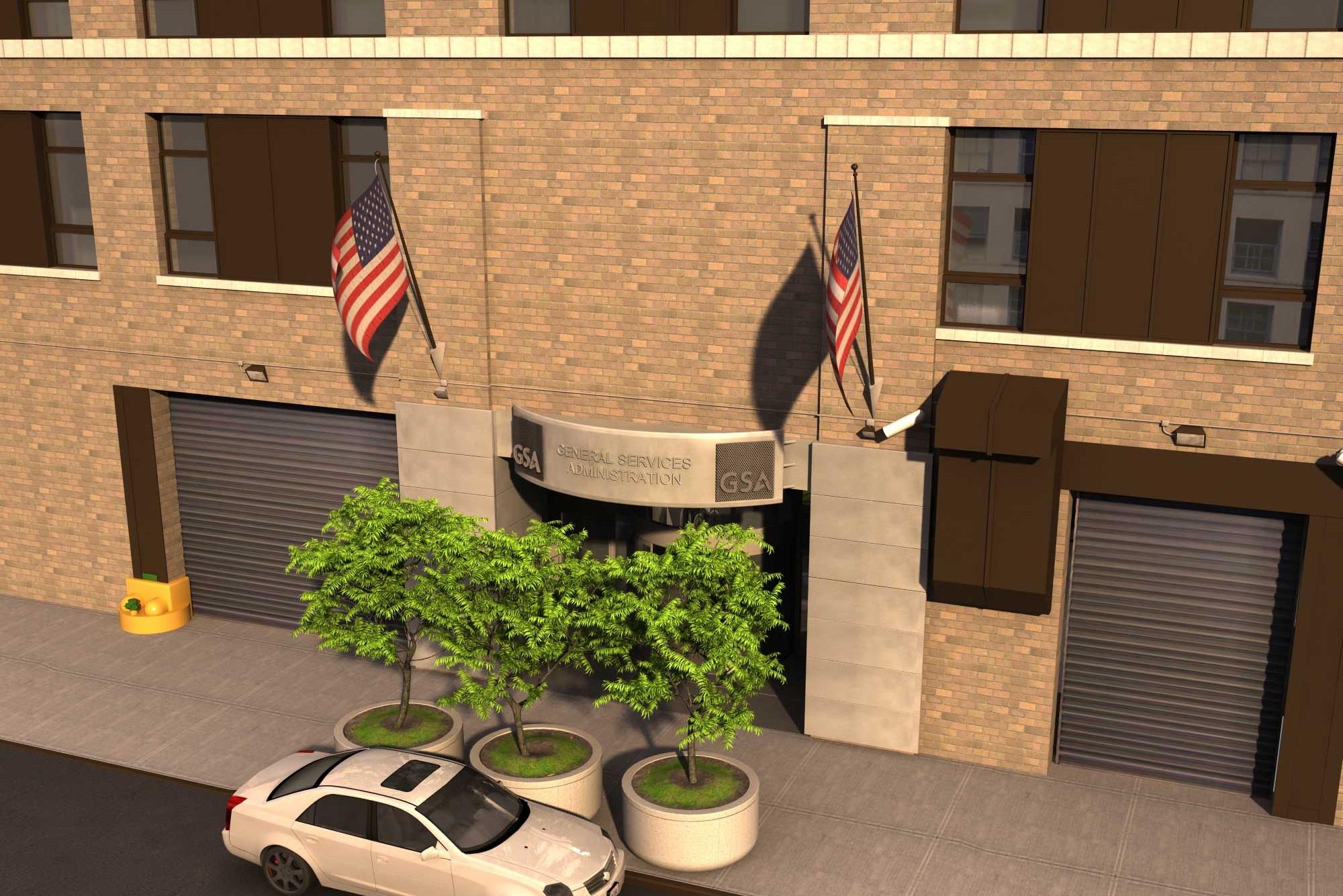 Architectural Rendering Exterior GSA