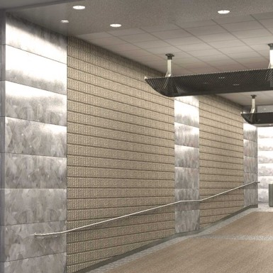 Architectural Rendering Interior Entrance GSA