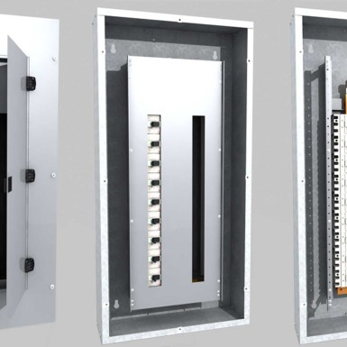 Digital Prototype Rendering Electrical Panel